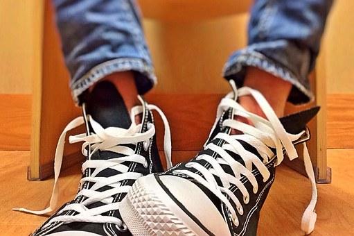 atarse zapatillas