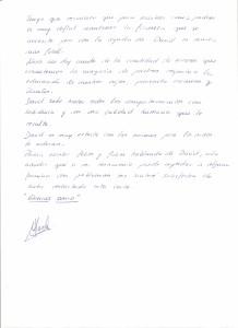 Carta recomendación Maria y Juan 2
